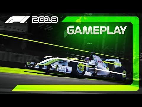 F1 2018 Gameplay: 2009 Brawn GP F1 Car