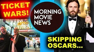 MoviePass vs AMC Theaters, Casey Affleck will NOT present at Oscars 2018