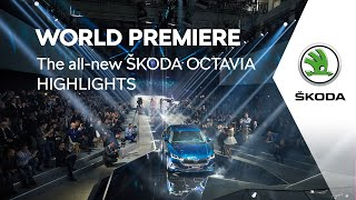 The all-new ŠKODA OCTAVIA: World Premiere Highlights