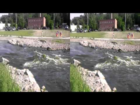 yorkville whitewater park illinois 3D (yt3d)