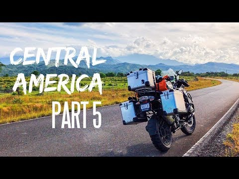 Packing a Motorcycle for Central America