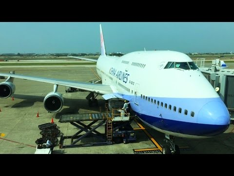China Airlines from Taipei Taoyuan Airport to Manila Philippines