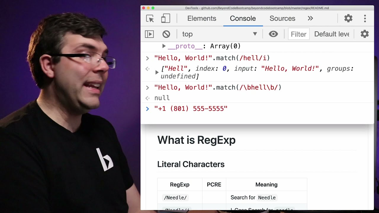 Regular Expressions - How to Find, Replace, and Format Text - Beyond Code Live X