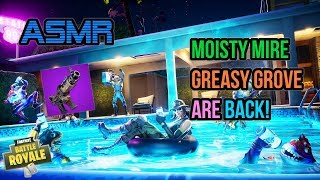 ASMR | Fortnite NEW Moisty Mire, Greasy Grove & Tac SMG Are Back! Patch Notes Update 🎮🎧Whispering😴💤