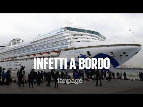 Coronavirus, 35 italiani sulla nave da crociera ferma in Giappone: a bordo 20 infetti