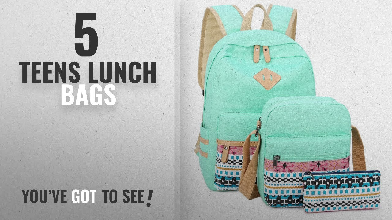 Best Teens Lunch Bags  2018   Canvas Backpack for Teens Girls School Bookbag  Set Laptop Backpack 8f25ed0899