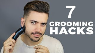 7 Grooming Hacks Every Guy Should Know | Men's Grooming Routine |  ALEX COSTA