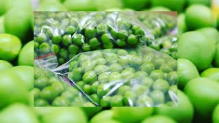 How to Make Homemade Frozen green peas Recipe By Somya