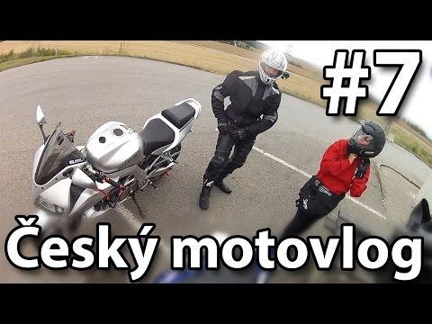 Velká Nádrž Nechranice A Skoro Nehoda V Zatáčce český Motovlog 7
