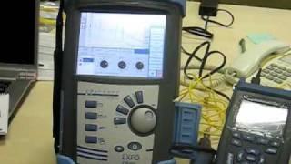 Видео: рефлектометр EXFO FTB-200. Обзор возможностей