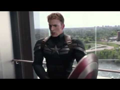 """Captain America """"Eye of the Tiger"""" music video"""