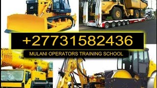 +27731582436 Front End Loader,dump Truck Grader Training School Pietermaritzburg Kuruman Ladysmith