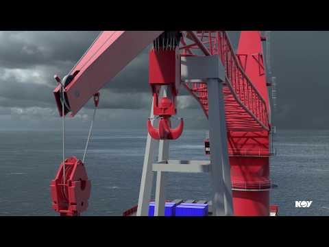 MSB7000 subsea lattice boom cranes