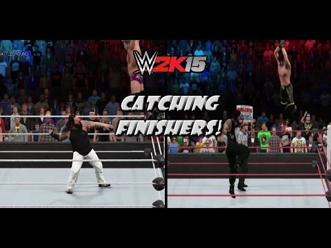 WWE 2K16 Concept: New Catapult / Catching Finishers (Mid Air Finishers)