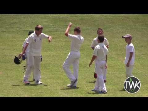 Junior Cricket Action - u/13 Piet Retief vs Emba 27-11-16
