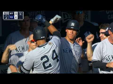 Condensed Game: NYY@TEX 9/10/17