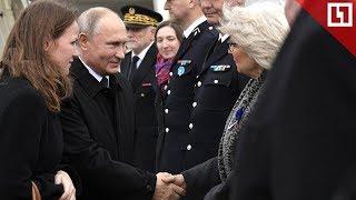 Владимир Путин прилетел в Париж