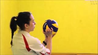 Основы волейбольной подачи (Анастасия, тренер BallGames.ru)