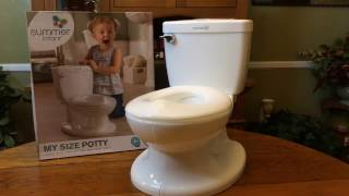 My Size Potty by Summer Infant Unboxing and Demo - Sponsored