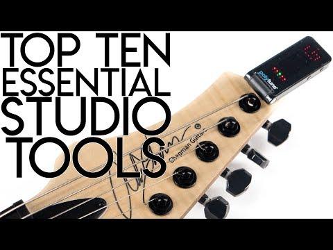 Top 10 ESSENTIAL Studio Tools!