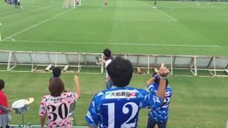 2016.6.19Honda vs奈良クラブ GK渕上と浅井のチャント