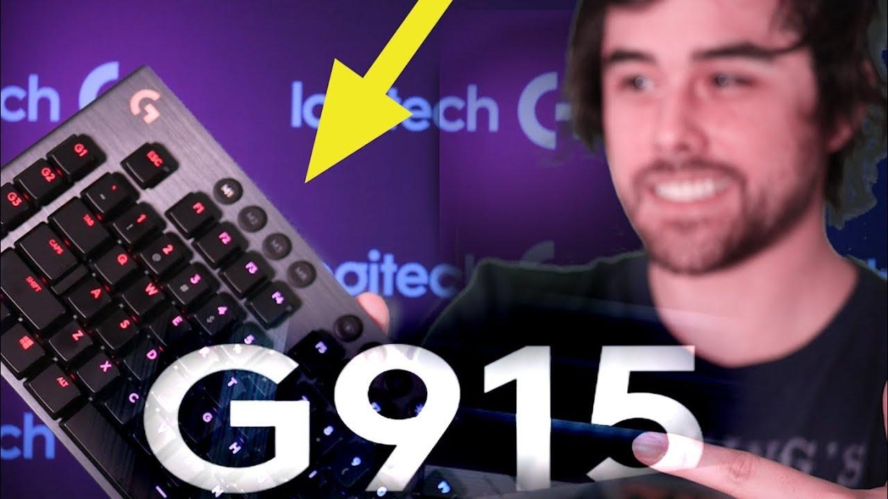 Logitech G915 Wireless Keyboard Review! Logitech's Best Yet?! Lightspeed! ⚡