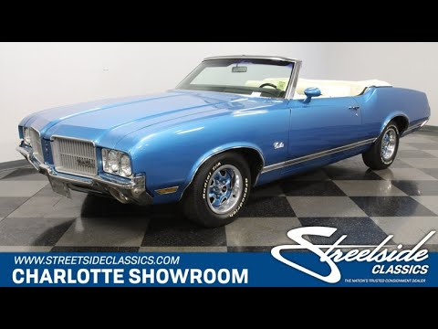 1971 Oldsmobile Cutlass Supreme Convertible For Sale | 5515 CHA