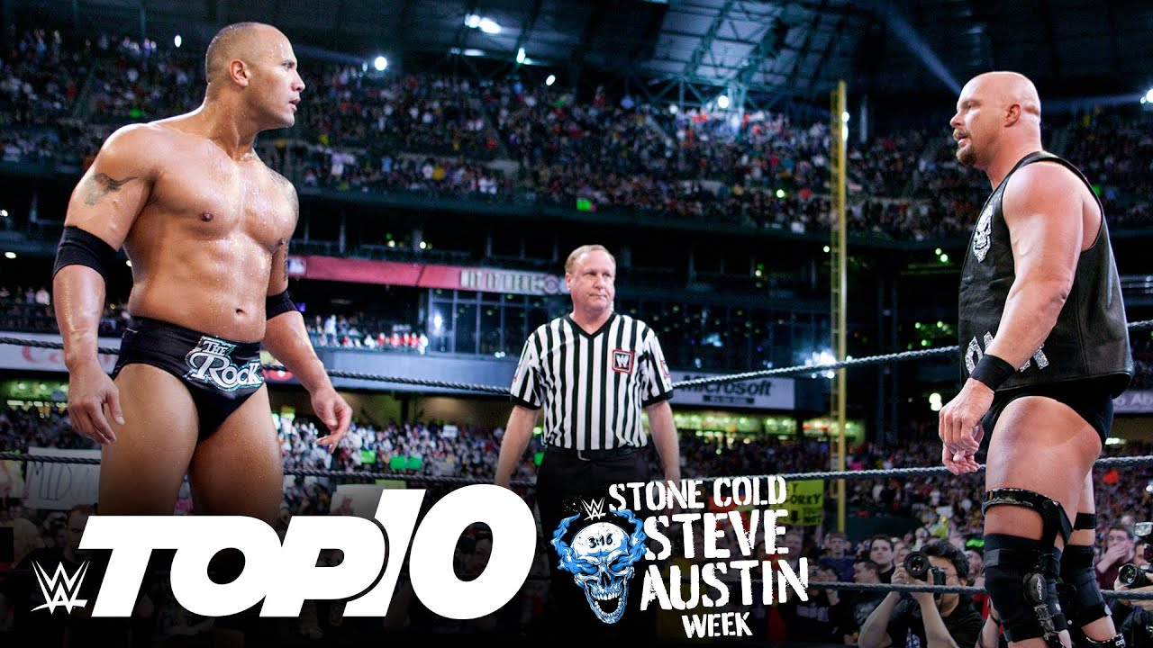 """""""Stone Cold"""" Steve Austin's greatest rivals: WWE Top 10, March 17, 2021"""