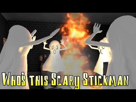 Who's this Scary Stickman! Хоррор про стикмена! игра на андроид!