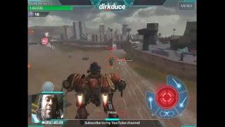 watch me play War Robots live Go Hard