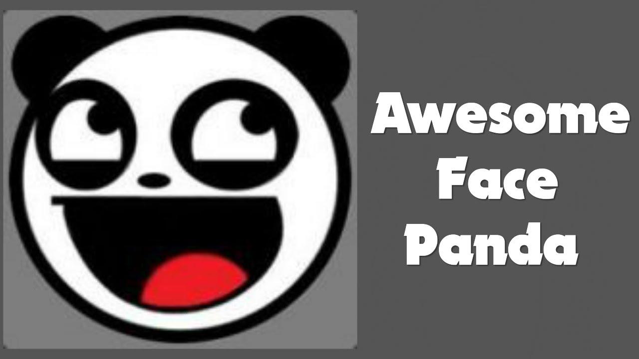 Awesome face panda emblem tutorial youtube awesome face panda emblem tutorial voltagebd Image collections