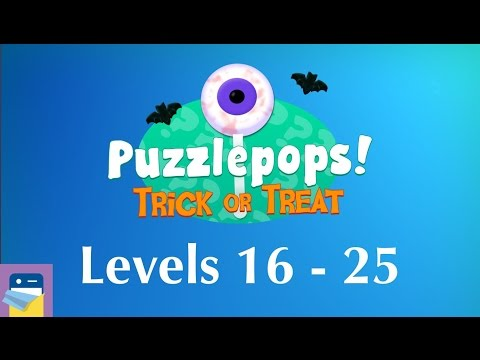Puzzlepops! Trick or Treat: Levels 16 - 25 (The Mansion) Walkthrough Guide (by Layton Hawkes)