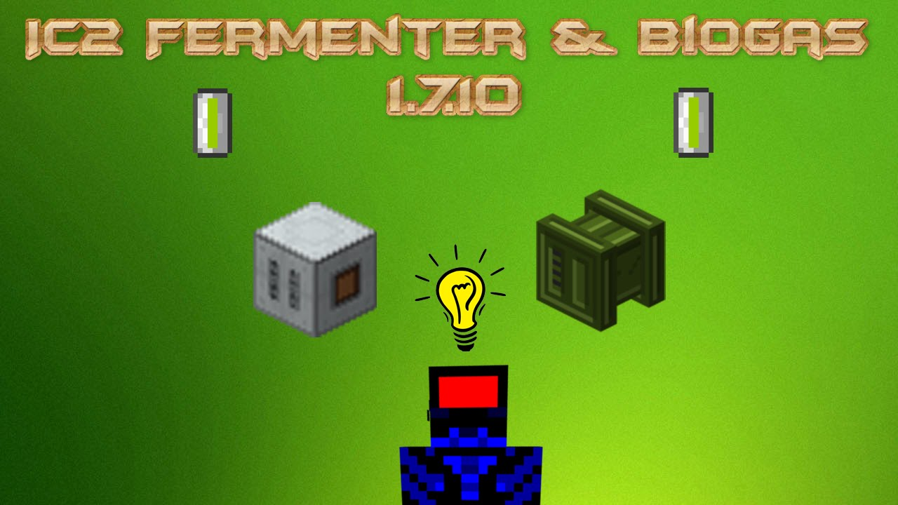 IC2 Fermenter & Biogas
