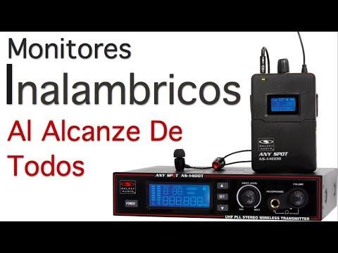 Monitores Inalambricos Galaxy Audio AS900 - AS1100 - AS1400 - AS1800