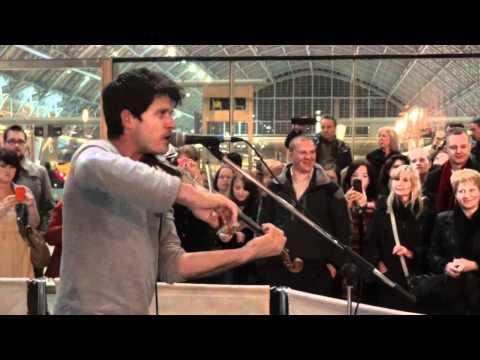 Seth Lakeman - Kitty Jay - Live St. Pancras Station London 2011