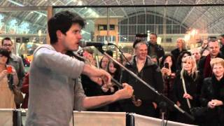 Seth Lakeman - Kitty Jay - Live St. Pancras Station London 2011