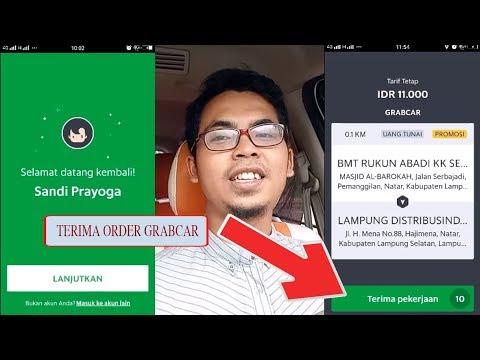 Cara Menggunakan Aplikasi Grab Driver Untuk Menerima Order Youtube