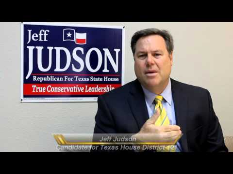Jeff Judson - Candidate for Texas House District 121