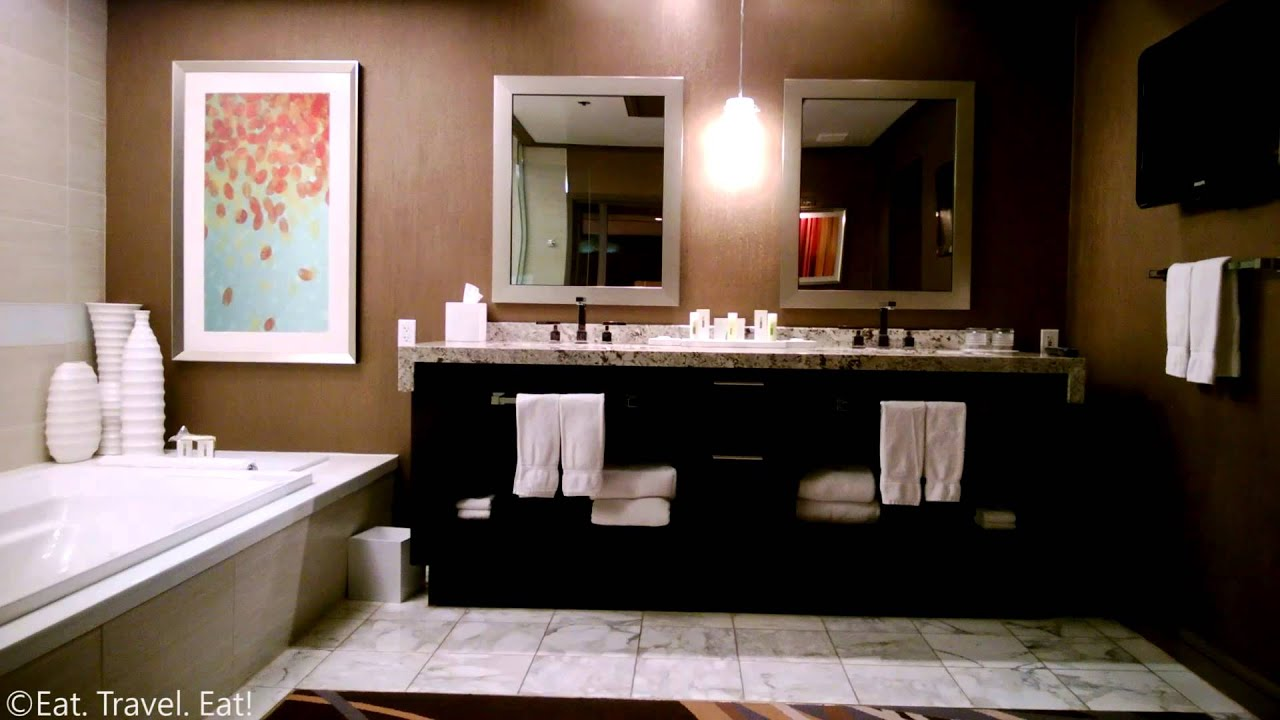 video tour two bedroom penthouse suite the mirage hotel and