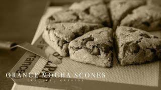 [No music] How to make Orange Mocha Scones