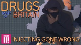 Injecting Gone Wrong: Swansea | Drugs Map of Britain