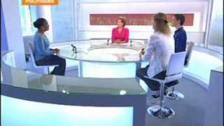 FRANCE 24 - FR - POLITIQUES: C. Bartolone et C. Taubira