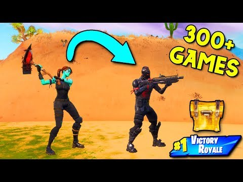 This Fortnite Challenge took me OVER 300 GAMES... it shouldn't have