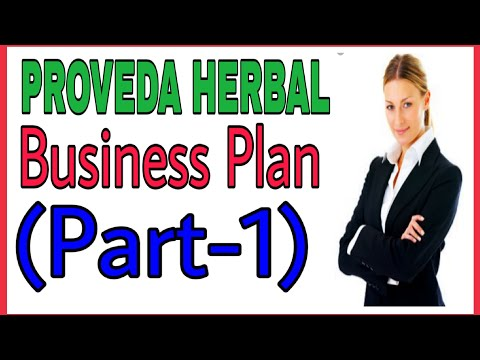 Proveda Herbal Business Plan Part-01