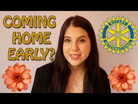 Why I'm Home Early from Rotary Youth Exchange