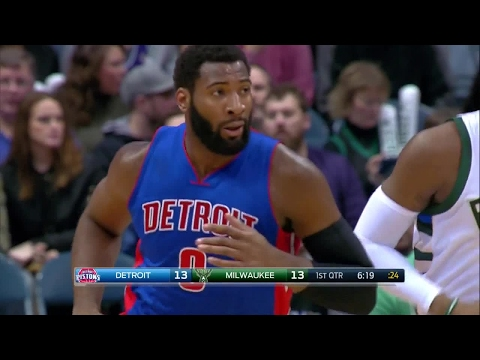 Quarter 1 One Box Video :Bucks Vs. Pistons, 2/13/2017 12:00:00 AM