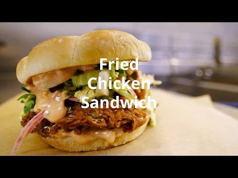 Chef Ludo Lefebvre Makes His LudoBird Fried Chicken Sandwich
