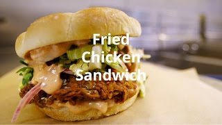 Chef Ludo Lefebvre Makes His LudoBird Fried Chicken Sandwich