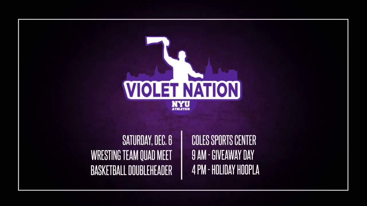 Violet Nation 12/6/14 NYU-TV Promo