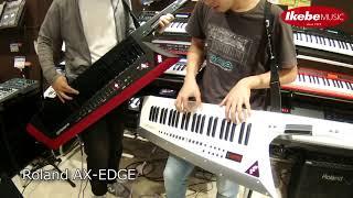 【池部楽器店】Roland AX-EDGE 2台でアドリブセッションしてみた!【鍵盤堂】